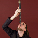 Dai Andrews - World Famous Sword Swallower