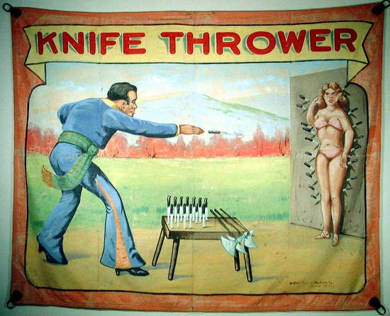 Knife Thrower Sideshow Freaks