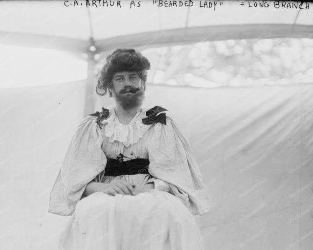 CA Arthur Bearded Lady Society Circus