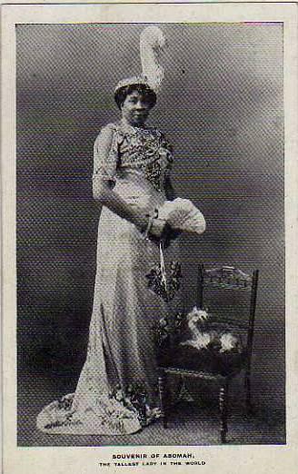 circus  Abomah african giantess  WO