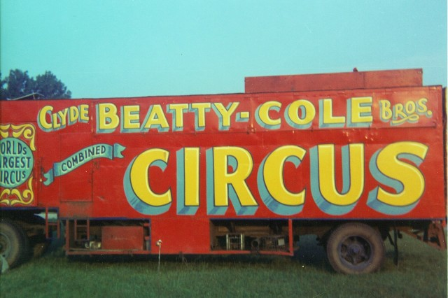 circus cylde beatty cole bros 12