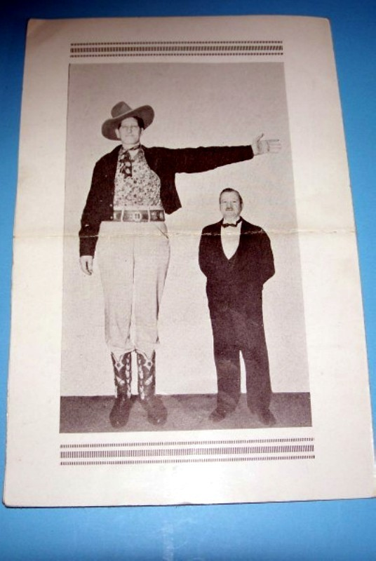 Jack Earle The Texas Giant