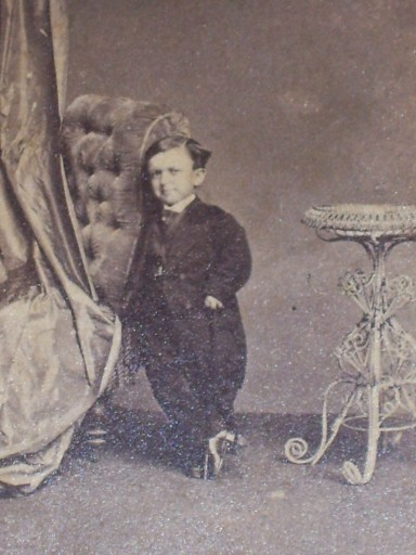 Circus Sideshow Freak Nashville, Tennessee Civil War Midget Dwarf 1