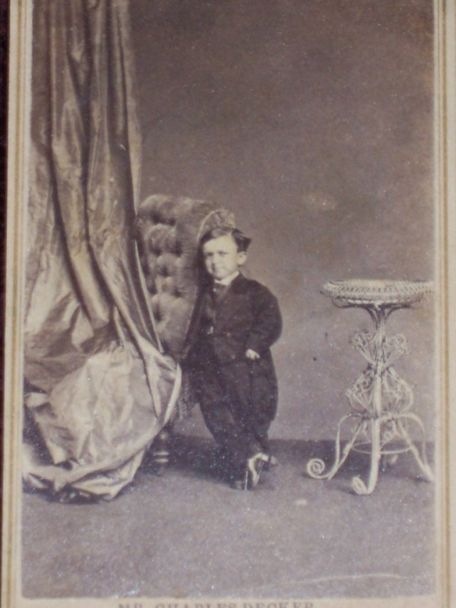 Circus Sideshow Freak Nashville, Tennessee Civil War Midget Dwarf 3