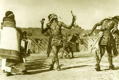 sideshow freaks hopi snake dance  native american