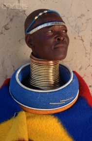 Sideshow   Ndebele Woman   Africa  long-necks   Freak