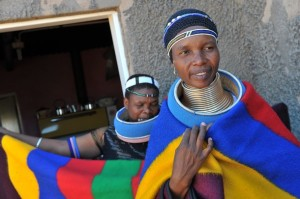 Sideshoe    Ndebele tribe       Africa    long-necks    Freak