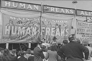 Vermont Sideshow Human Freaks 1940s